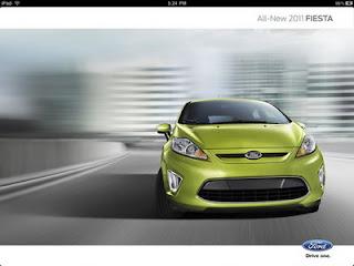 Ford Fiesta iPad App released