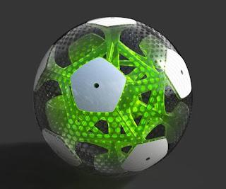 Balón de fútbol inteligente