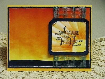 Our Daily Bread Designs, Faith