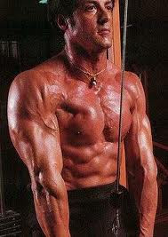 Rock Body Fitness Weight Lifting Exercises : Sylvester Stallone, ROCKY,Body, Muscle