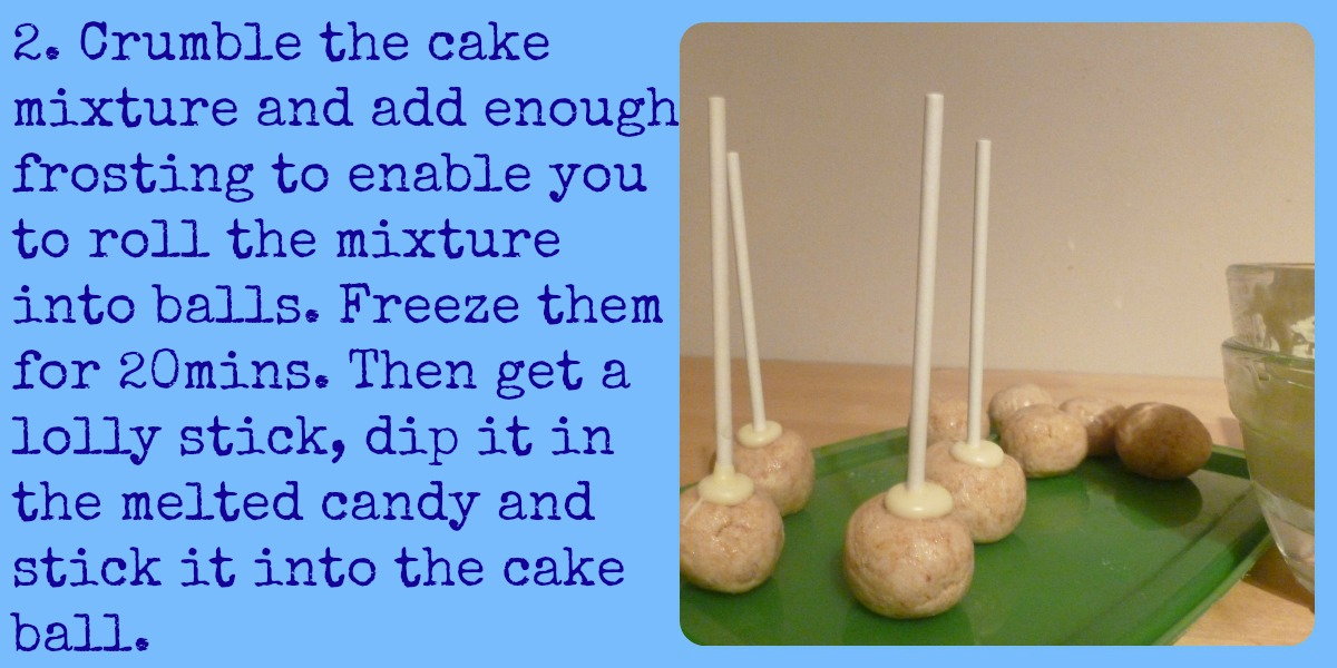how to make cake pops uk