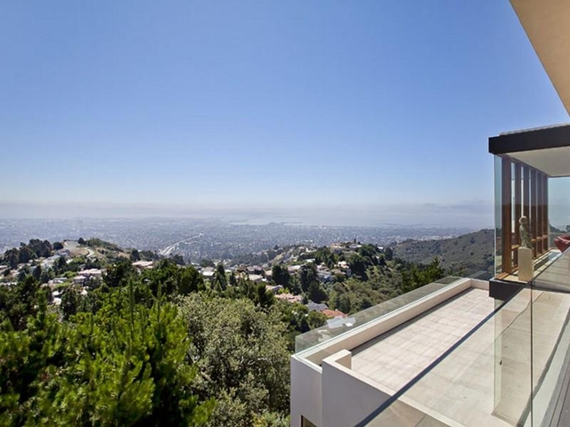 Photo of Berkeley during the day as seen from the house