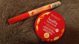 Bourjois果療明眸修飾液及潤澤粉餅