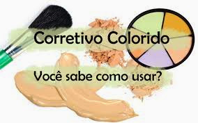 Corretivo colorido. Como usar?