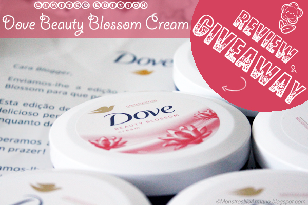 Limited Edition Dove Beauty Blossom Cream Review & Giveaway !!!