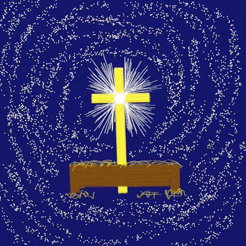 Crib, Cross and Star. (CGI)