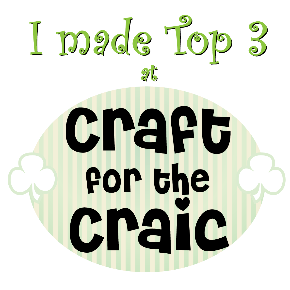 Craft for the Craic Top 3 Pick