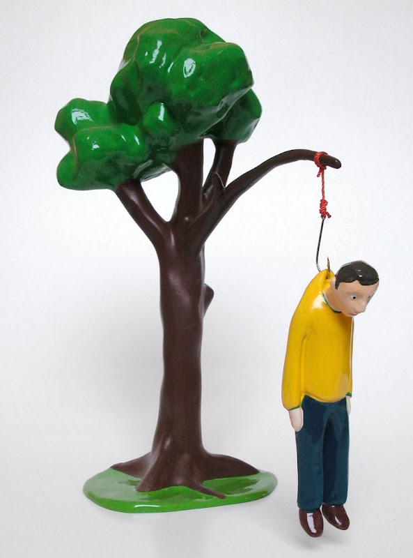 Hængende mand - Fredrik Raddum - Hanging Man