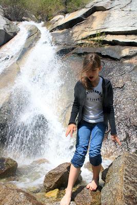 Lisa Falls Little Cottonwood Canyon Utah Waterfall Hike