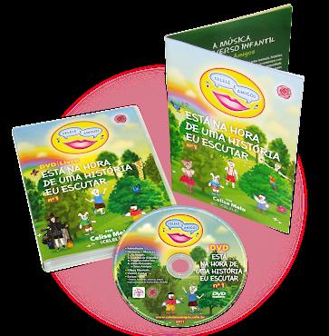 PROJETO GRÁFICO E DIAGRAMAÇÃO DVD | Livro Celelê e Amigos
