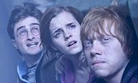 Harry, Ron y Hermione en una escena de Las reliquias de la muerte parte 2