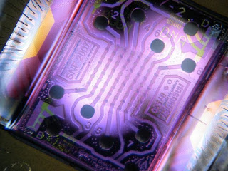 microchip with an array of 64 nanosensors