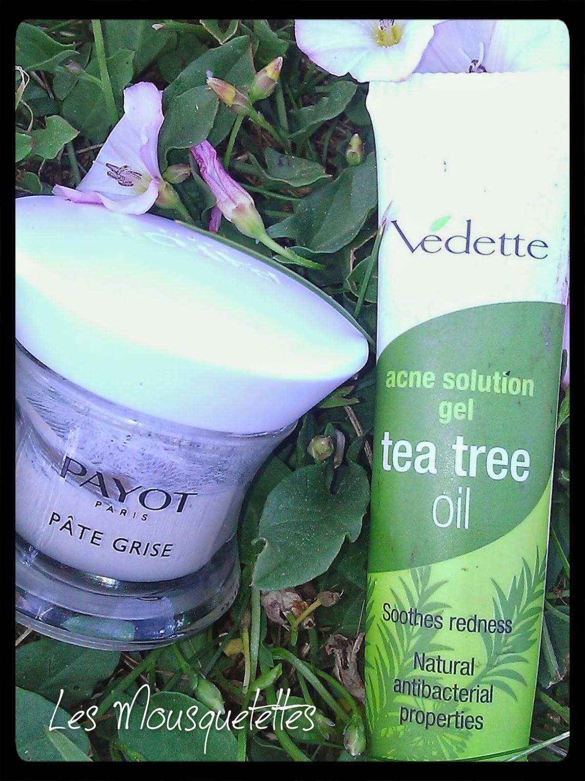 Pâte Grise Payot VS Tea Tree Oil Vedette - Les Mousquetettes©