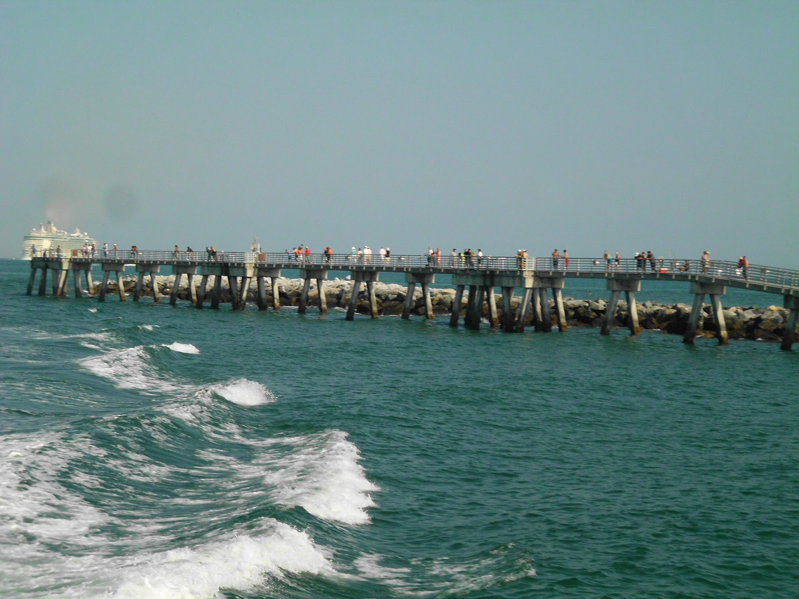Busy day for boating and fishing in brevard for Cocoa beach fishing pier