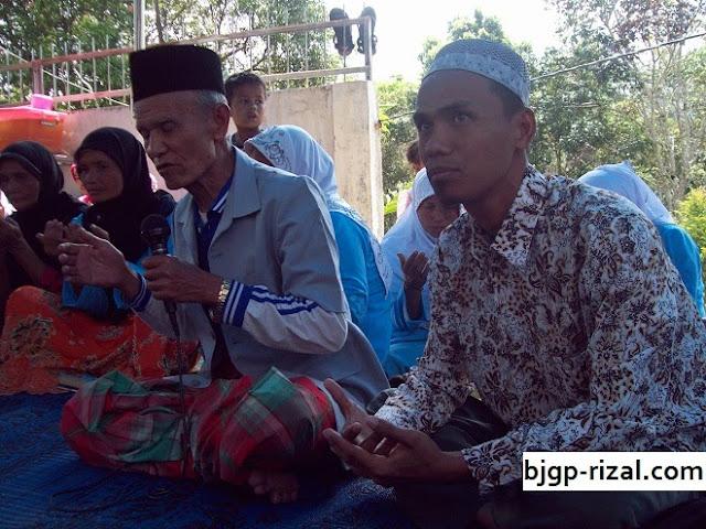 Doa dengan Tokoh Adat Batang Garut