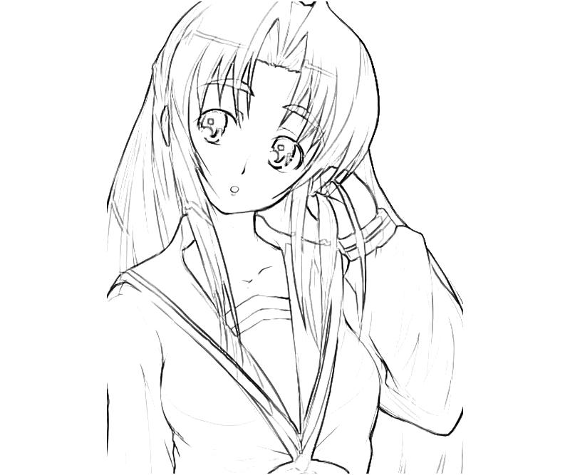 printable-ryouko-asakura-cute-coloring-pages