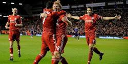 Primer gol de Suarez.