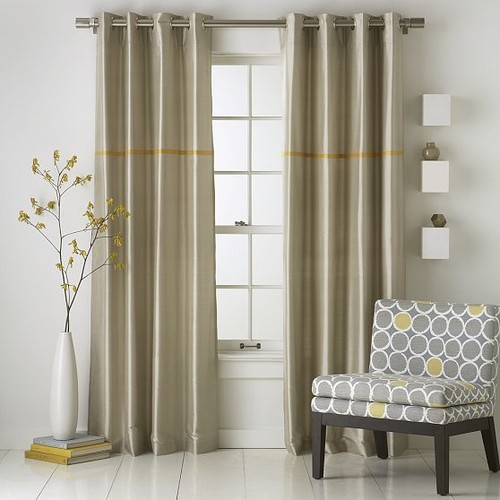 Modern furniture 2014 new modern living room curtain Contemporary drapes window treatments