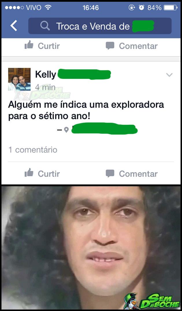 PRECISO DE UMA EXPLORADORA