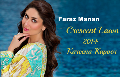Crescent Lawn 2014 By Faraz Manan