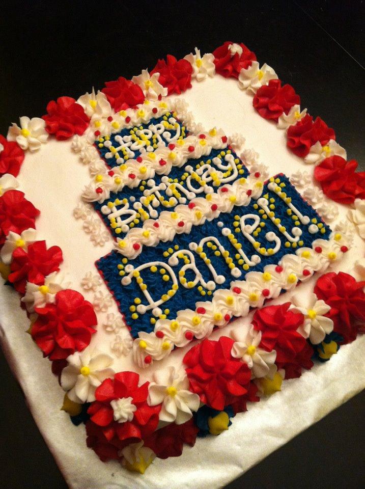 Happy Birthday Daniel Cake Ideas and Designs