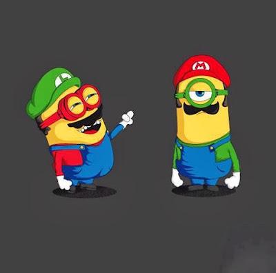 Minions Mario y Luigi