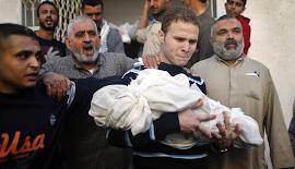 Estado terrorista de Israel massacra palestinos