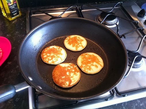 Drop Scone Recipe cooking