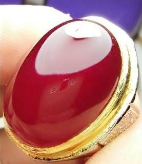 Batu Natural Red Baron Big Size