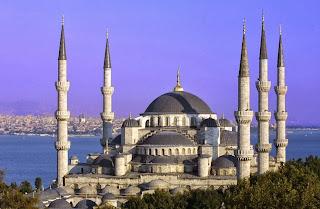 Den blå moske, Istanbul