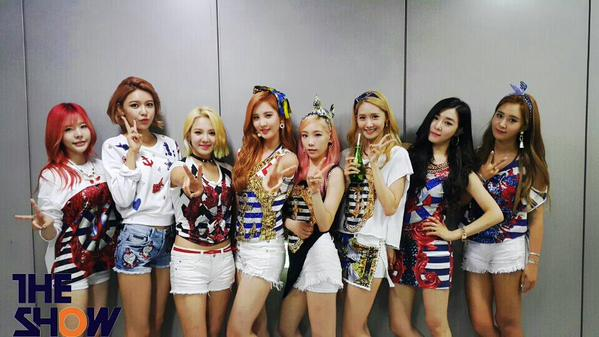 snsd  u0026 39 party u0026 39  with first win at  u0026 39 the show u0026 39