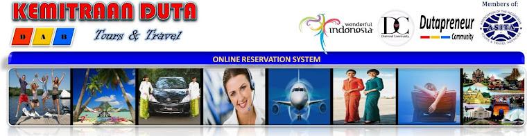 Reservasi Online Keagenan Duta