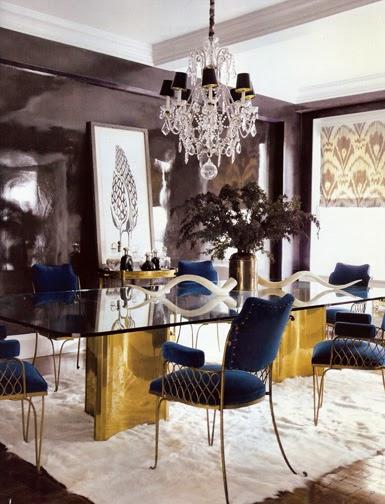 Belle Maison Glamorous Elle Decor Home Tour