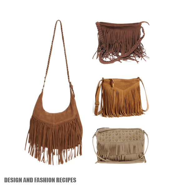 Fringe handbag SS2013 on Design and fashion recipes