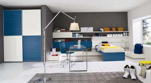 Dormitorios modernos para j venes galer a Diseno de habitaciones para adolescentes