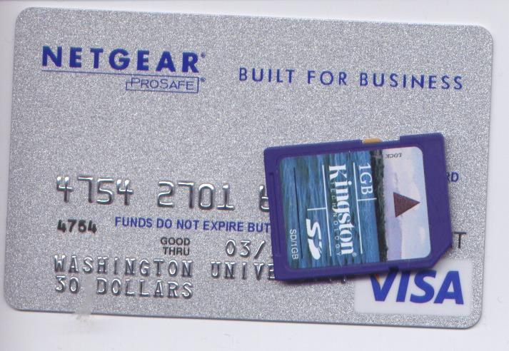 maximizing my 30 netgear rebate card hugh s worthless blog