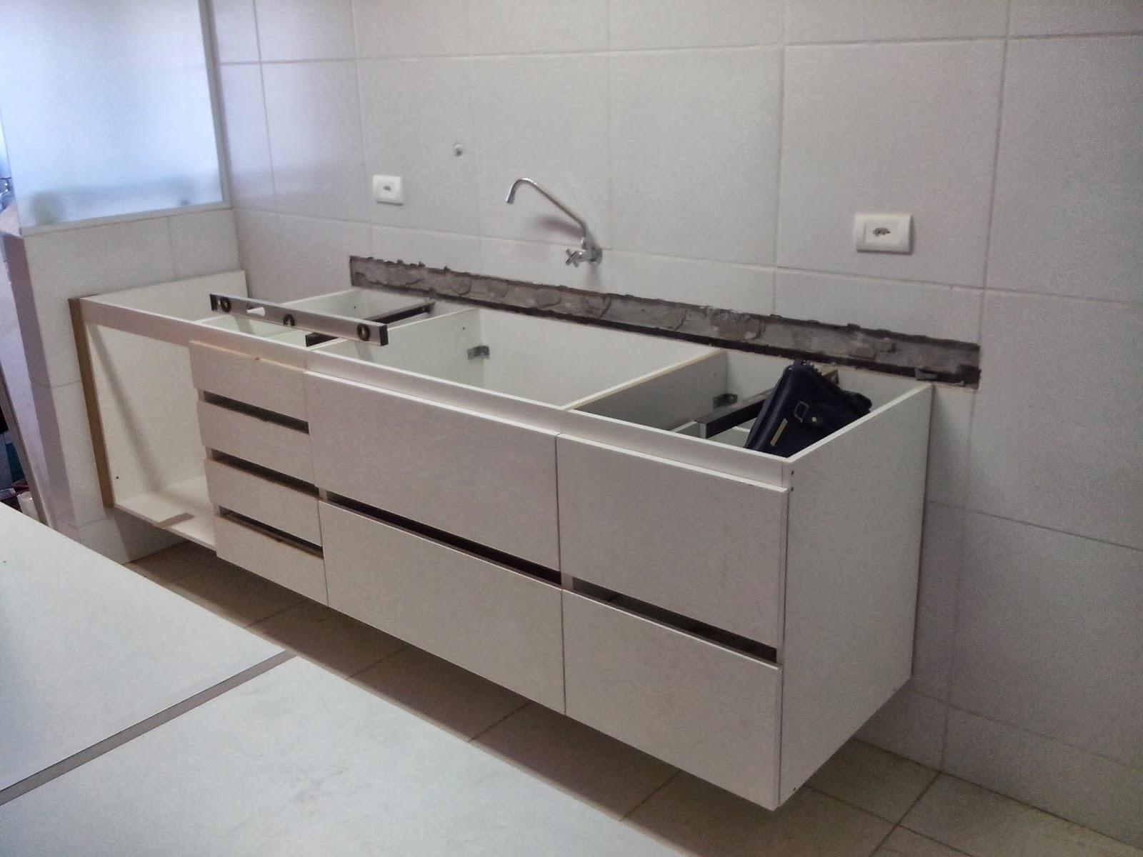 Reforma do meu apê: Montagem cozinha e lavanderia #50617B 1600x1200