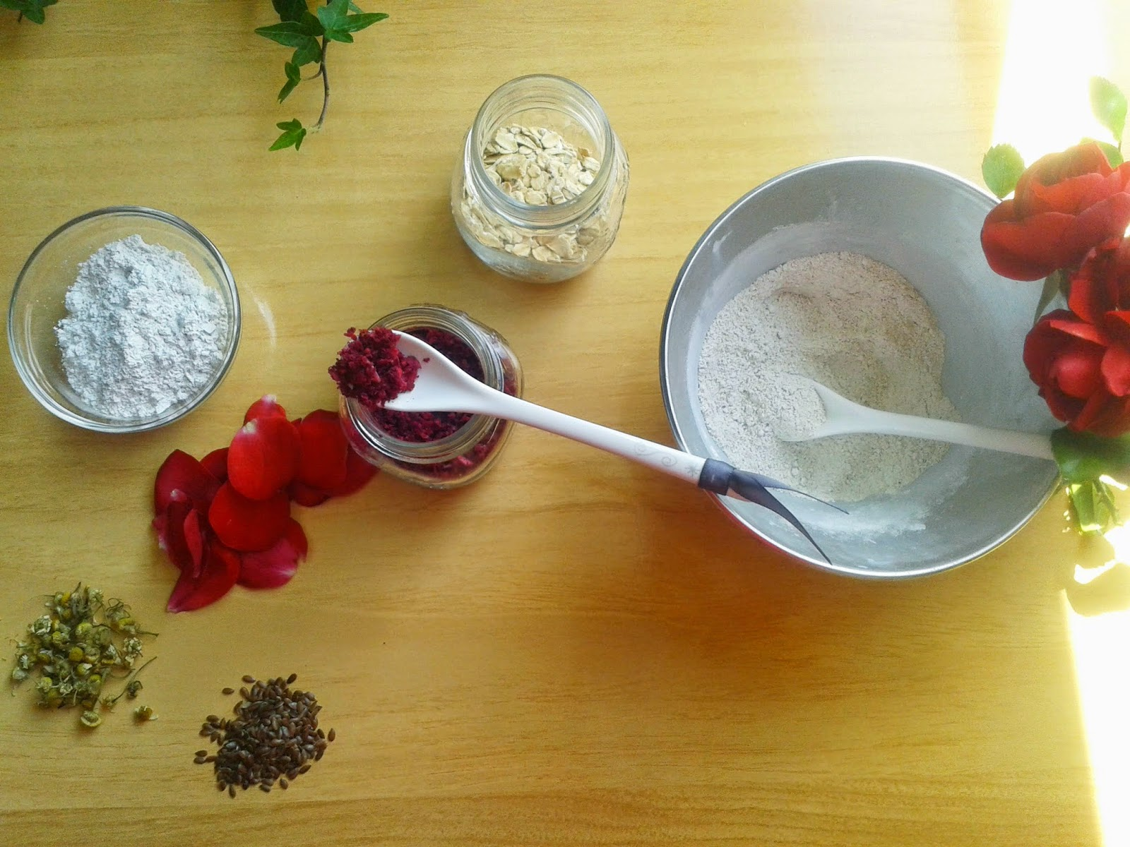 homemade cleansing grains