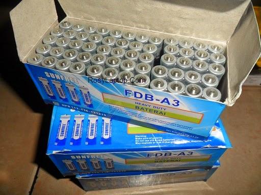 Baterai AAA / A3 Sunfree