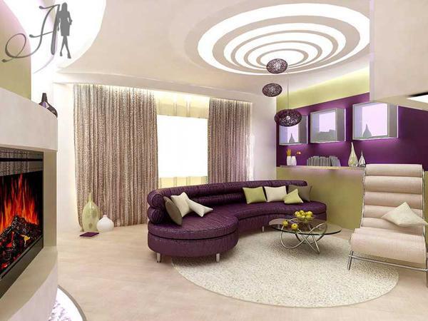 Living Room Design False Gypsum Ceiling Window Curtains Gorgeous Designs Consider Home Decor