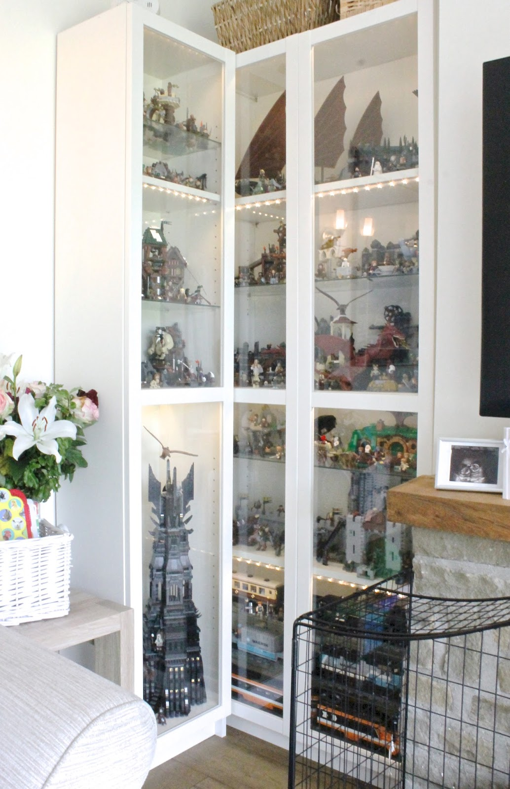 Amazing House Tour Our Living Room Bump To Baby Uk Motherhood Family Lego Display  Cabinet Part 7
