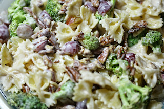 Broccoli Pasta Salad from In Him We Live And Move And Have Our Being