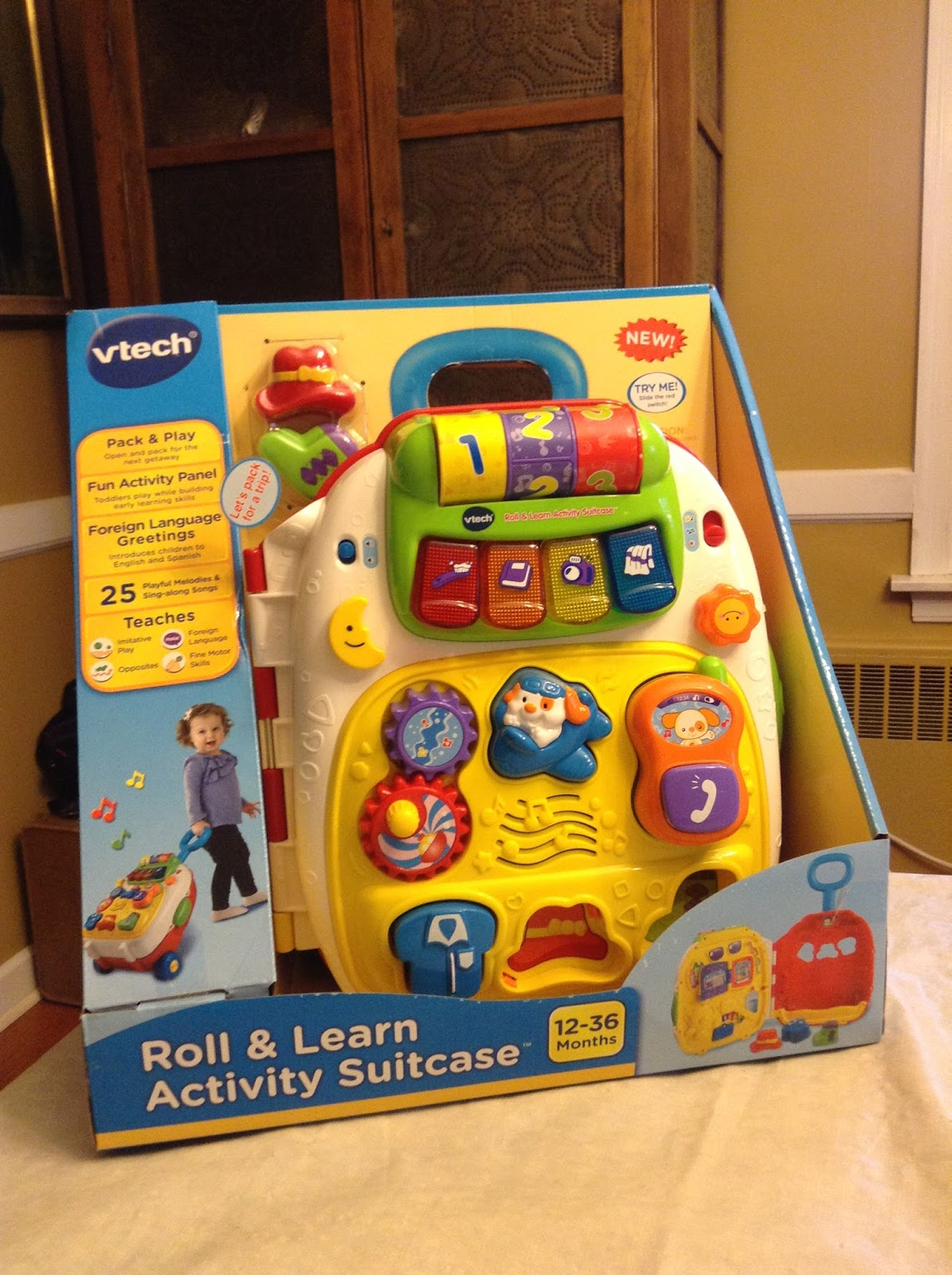 The Little Things: VTech Roll & Learn Activity Suitcase™ Review ...