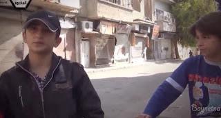 Atentado mientra Entrevistan a unos Niños en Siria