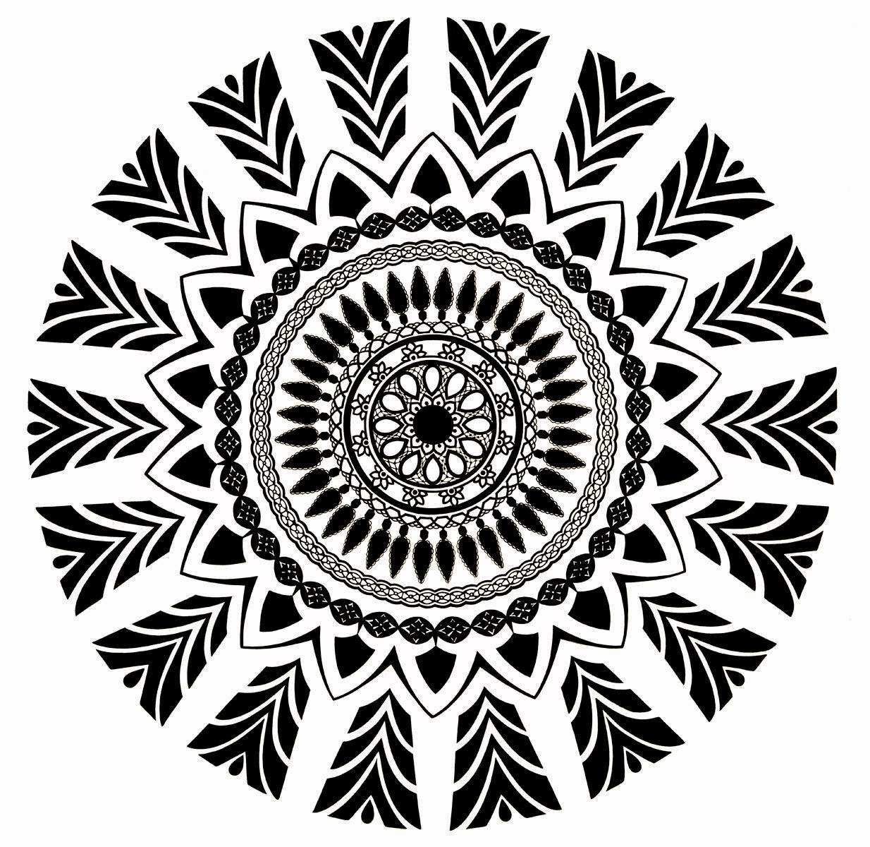 zentangle, zendoodle, zendala, mandala