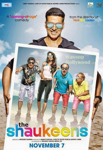 The Shaukeens (2014) Movie Poster No. 3