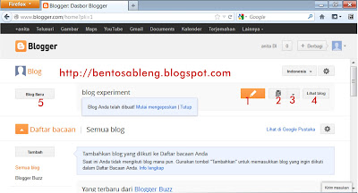 membuat blogspot