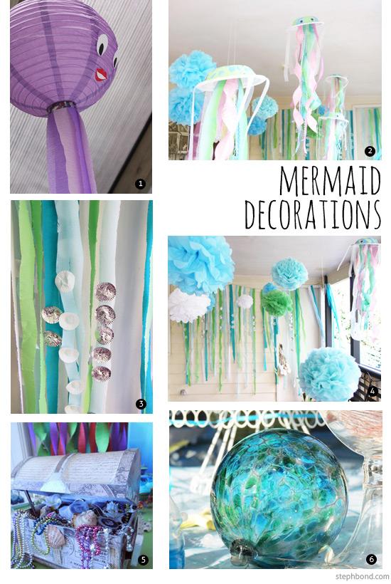 Bondville Best Mermaid Party Ideas