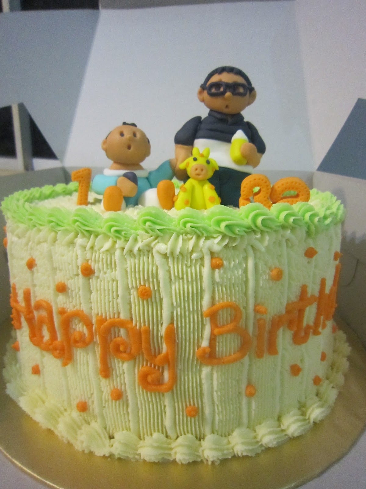 QUICK TAKES: Father and Son Birthday Cake
