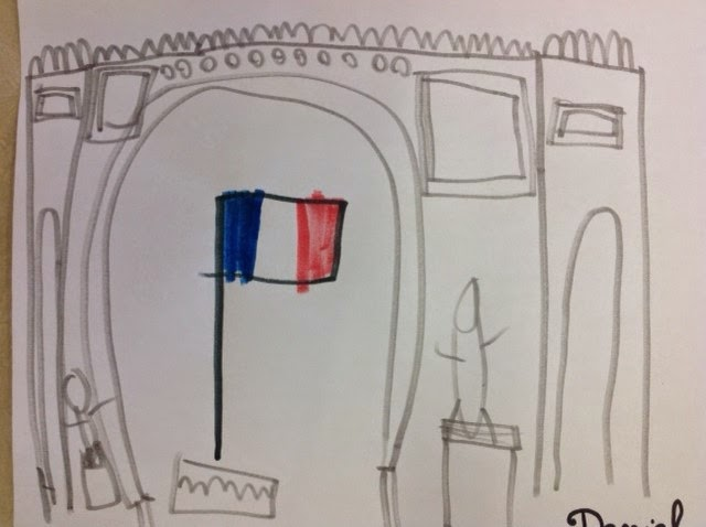 dessin Arc de Triomphe